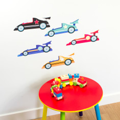 Racing Car Wall Stickers
