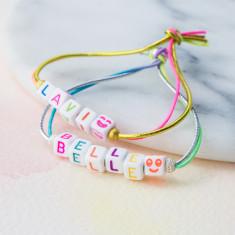 Personalised Cube bracelet
