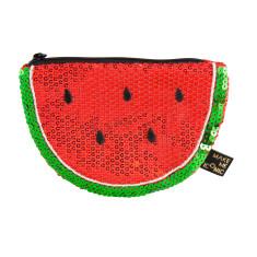 iconic watermelon sequin purse