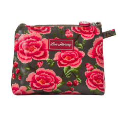 Small cosmetic bag in Alexandra Donkey Print