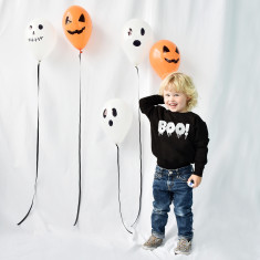 Boo! Children's Halloween Sweatshirt Jumper