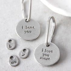 I Love You or I Love You More Key Ring