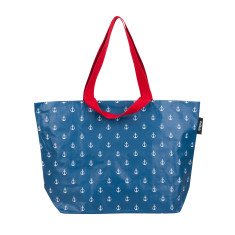 Shopper bag in Anchor Print