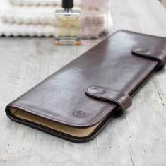 The Tivoli Personalised Leather Tie Case For Men