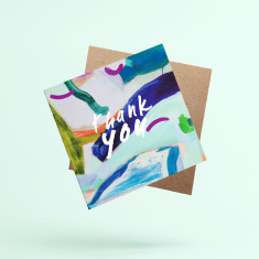 Thank You Greeting Cards (Pack of 3)