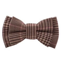 Tartan bow tie (various colours)