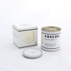 Code Manly Bacon Candle