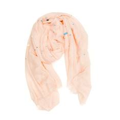 Paint splatter scarf
