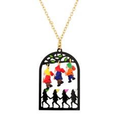 Seven dwarves necklace