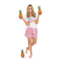 California Dreaming Women's Pyjama Shorts Set