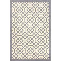 Barcelona indoor/outdoor rug in grey violet & turtle dove