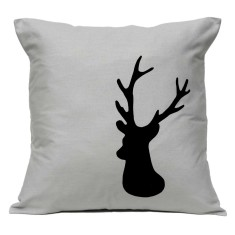Deer handmade cushion cover