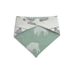 Tassle and counting sheep reversible bib