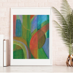 Autumn Leaves Original Print