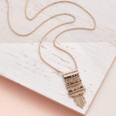 Aztec Style Pendant Necklace