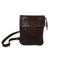Giulio Choc Leather Man Bag