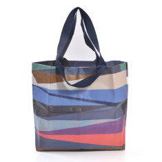 Shopper bag in monarch