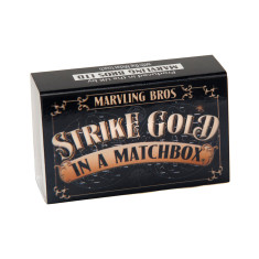 Edible 24 Carat Gold In A Matchbox
