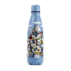 Houses Water Bottle