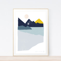 Reflection art print