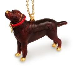 Labrador dog necklace