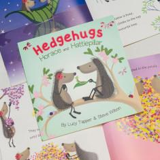 Hedgehugs 'Horace and Hattiepillar' Children's Book