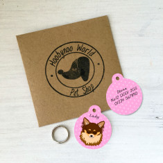 Chihuahua Personalised Pet ID Tag