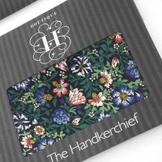 Winter Cornflowers Hankie (Set of 2)