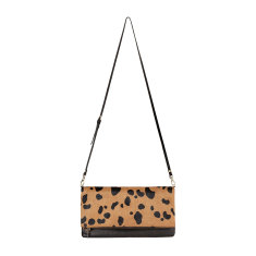 Gwyneth leather bag in black/wildcat