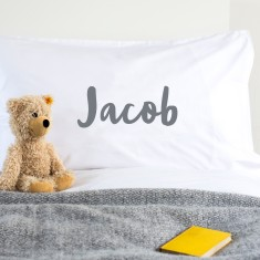 Personalised Child's Name Pillowcase