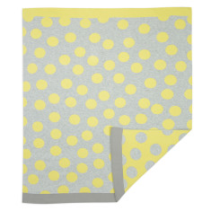WEEGOAMIGO Journee Knit Blanket - Morgan Yellow