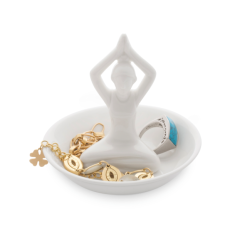 Personalised Yoga Ring And Jewellery Dish