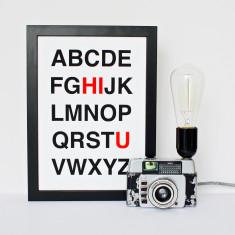HI U Alphabet Print