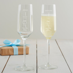 Personalised Maid Of Honour Glass