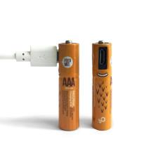 Smartoools MicroBatt AAA Rechargeable 450mAh Batteries - 2PK
