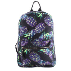 Backpack-Brazil Pineapple Black