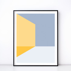 Melange No. 3 Geometric Art Print