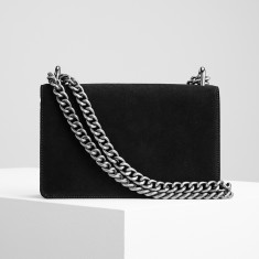 The Chain Bag In Black