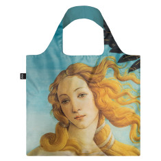 LOQI reusable bag in museum collection in the birth of venus