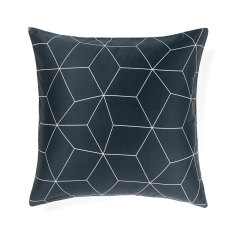 Sine slate European pillowcase