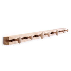 Applicata coat rack - Large (oak, smoked oak, stained oak)