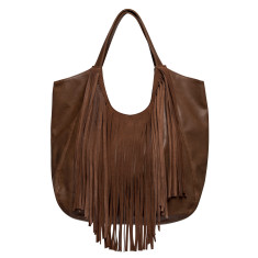 Fringed masterpiece bag