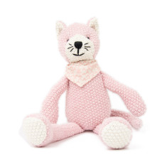 Weegoamigo Pearl Knit Toy - Kitty
