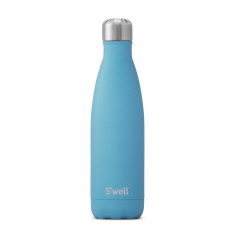 S'Well stone collection insulated bottle blue fluorite