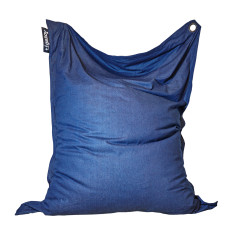 XL indoor/outdoor beanbag in Dark Denim