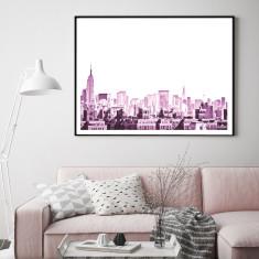 New York, New York art print (various sizes)