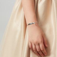 Personalised Pearl Identity Bracelet