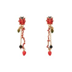 Lady Bird Heart Earring