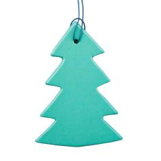 Danish jul tree in mint (set of 4)