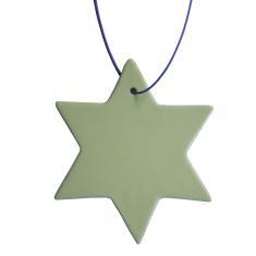 Christmas porcelain stars